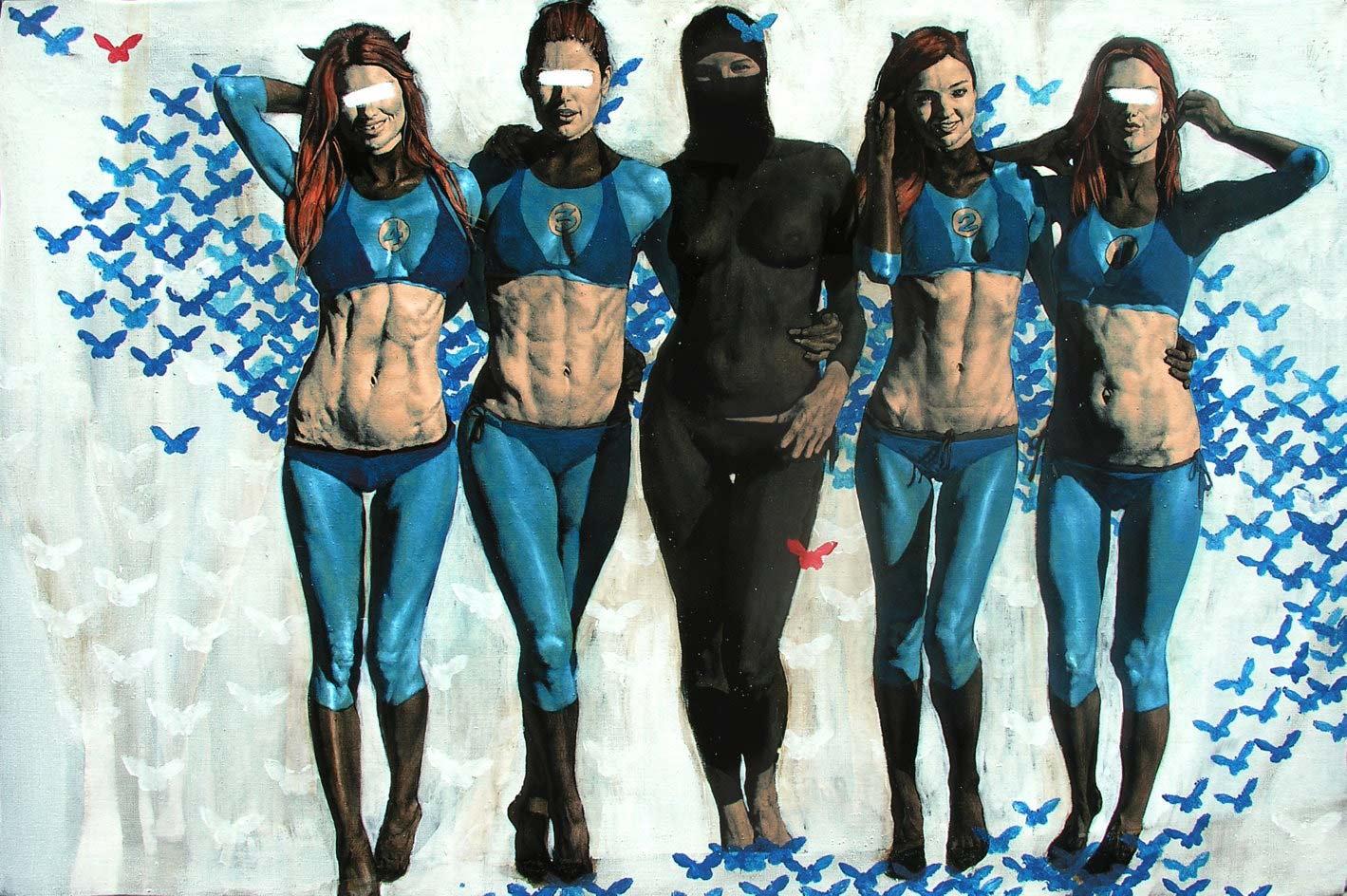 Le Fantastiche 4 + La Vedova Nera - Alex Folla