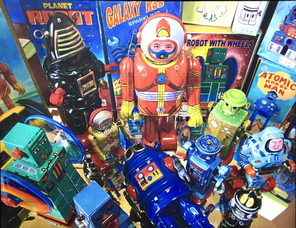 Vintage Robots - Giampaolo Frizzi