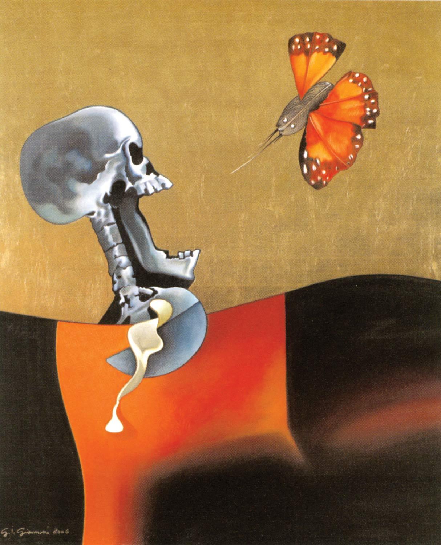 La Morte e La Farfalla Ferita - Gianfranco Giannoni