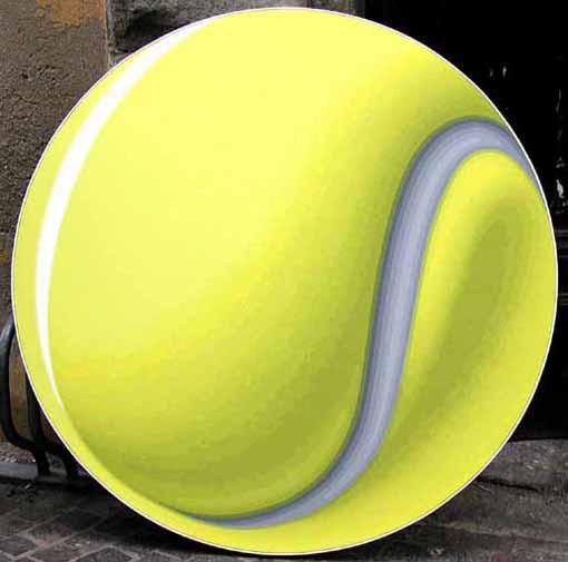 Palla da Tennis - Giuseppe Restano