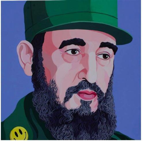 Fidel Castro - Giuseppe Veneziano