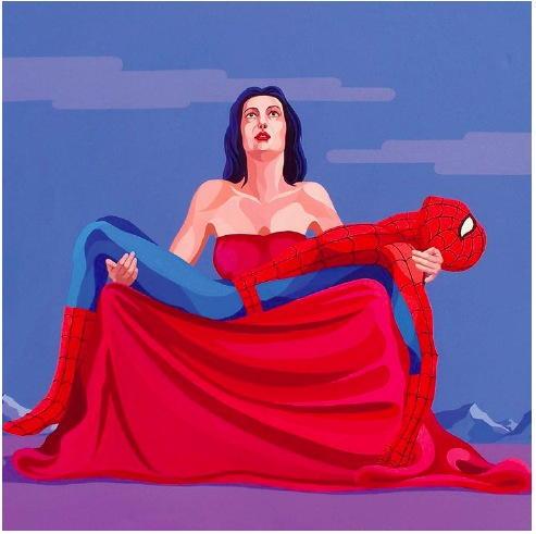 The Black Widow - Giuseppe Veneziano