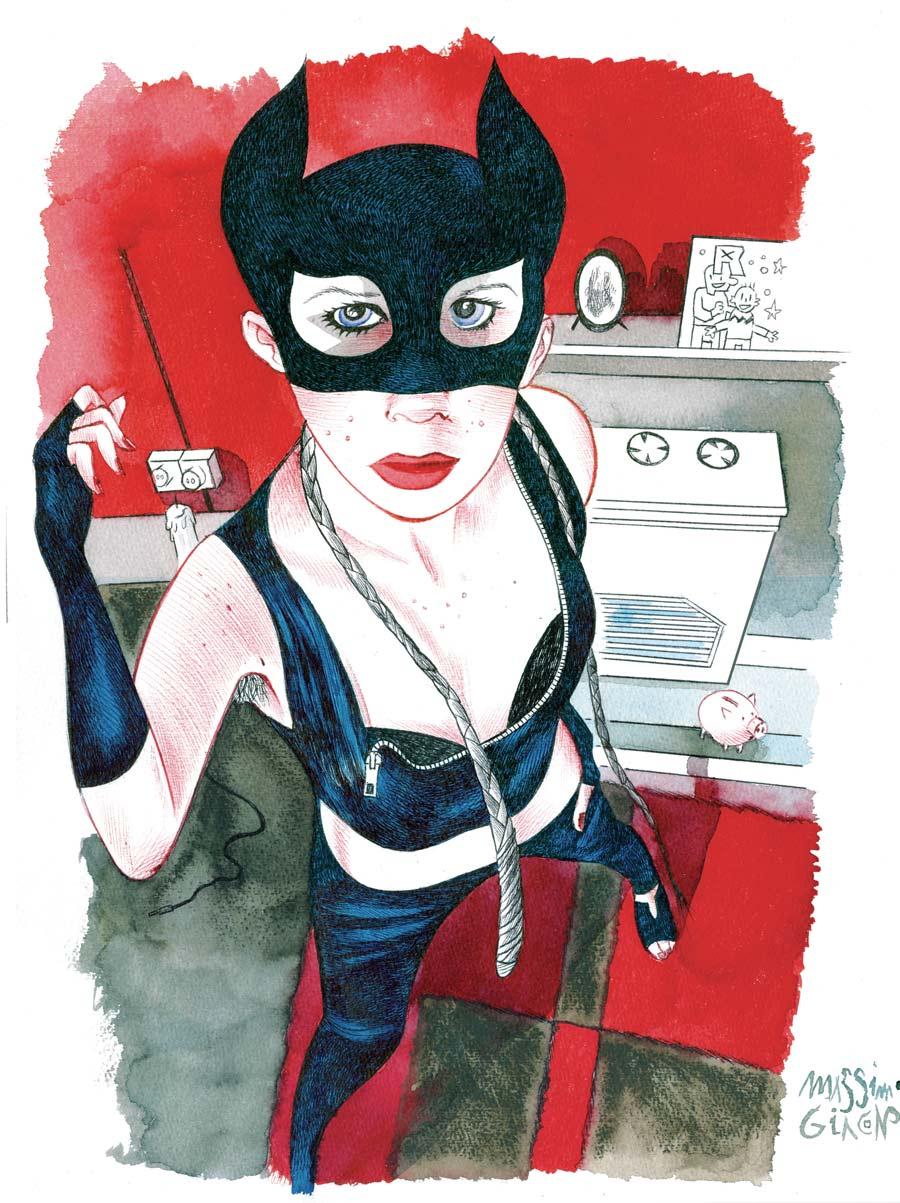 Catwoman - Massimo Giacon