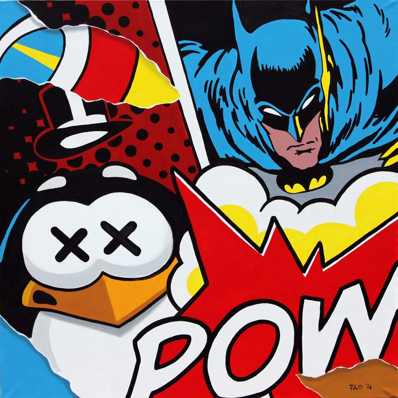 Batman vs Penguin - Pao