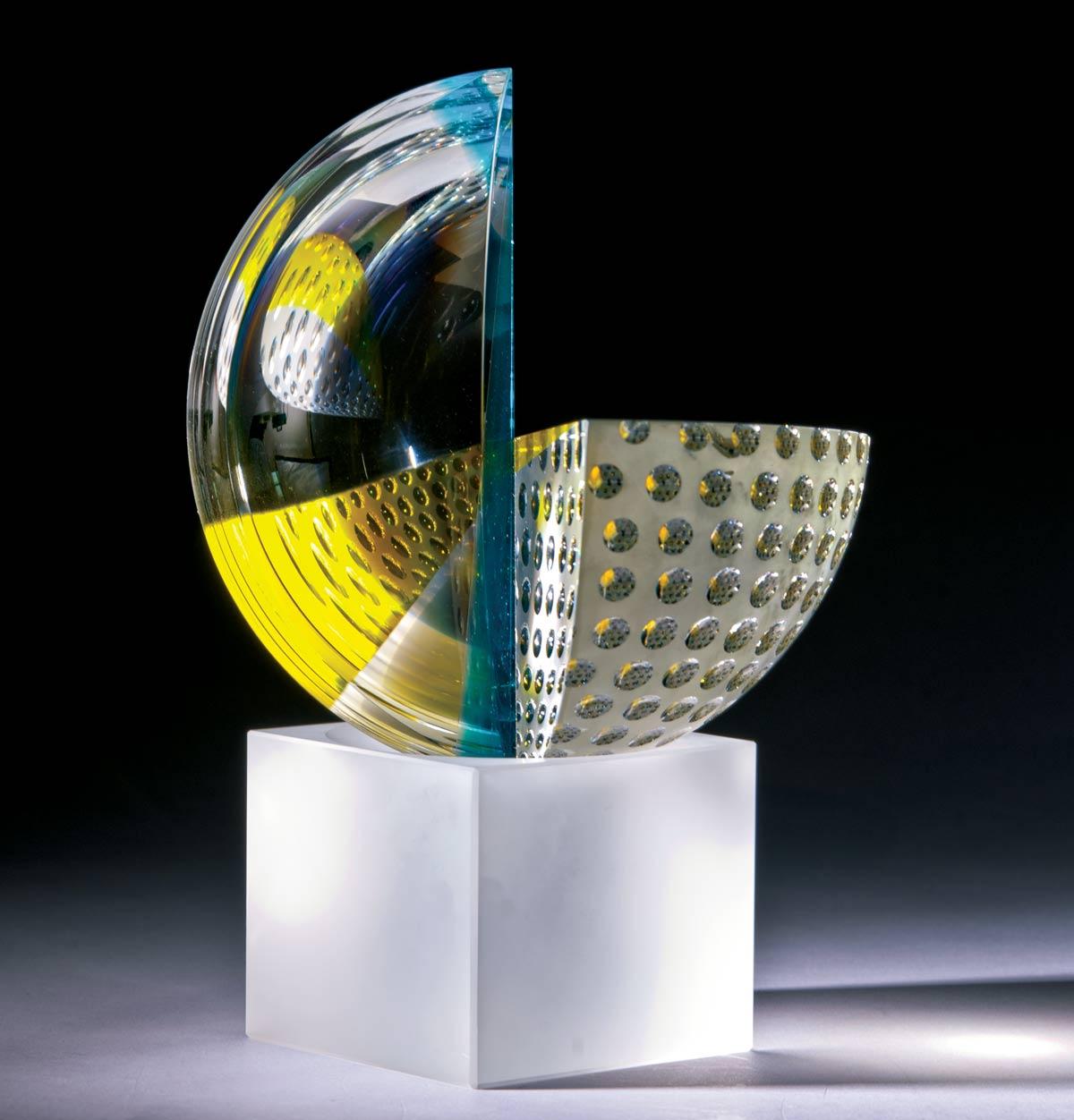 Gömbszeletek Kékkel Sárgával - Peter Botos