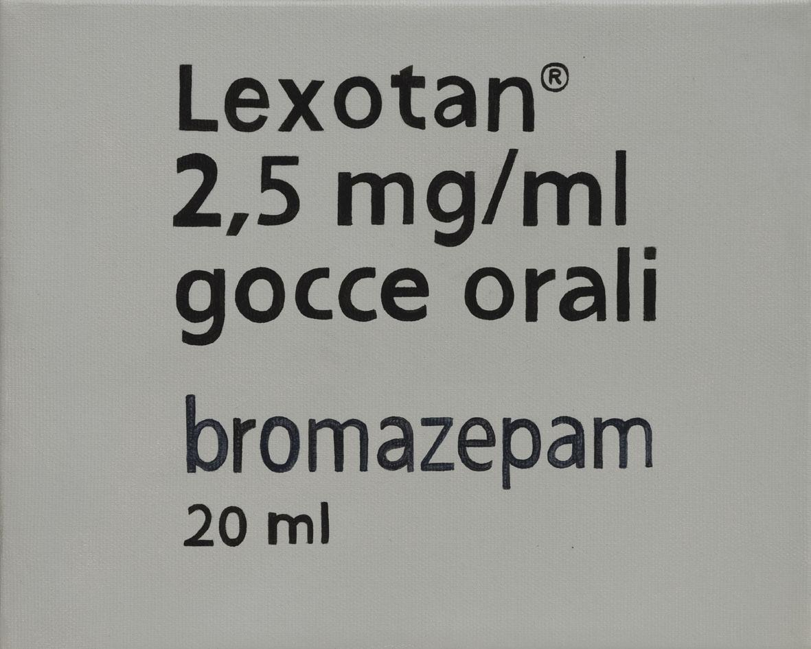 Lexotan cm 20x25 anno 2010
