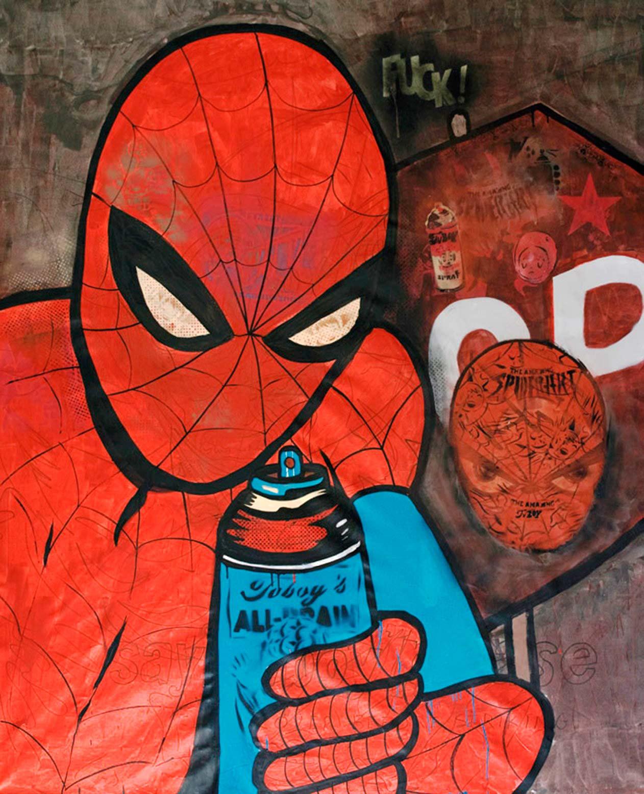 The Amazing Spider Art - TV Boy