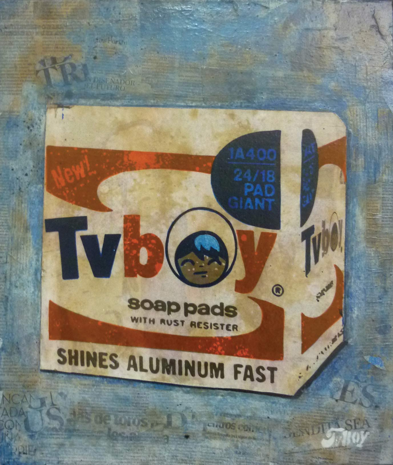 Tv Boy Soap Pads - Tv Boy