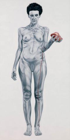 Nuda-veritas - L'istinto - cm 200x100 Anno 2010