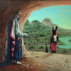 Anubi visita Mosè - Gianluca Sbrana