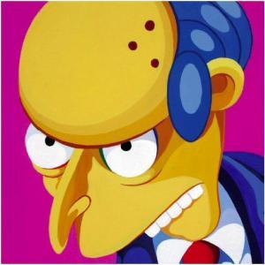 Mr Burns - Giuseppe Veneziano