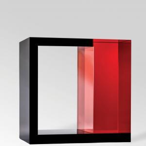 Feketenégyzet Piros Hasábbal - Peter Botos